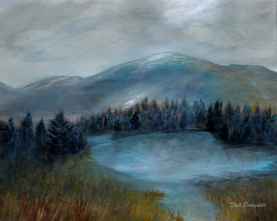 Painting - Lost Lake by Dick Bourgault
