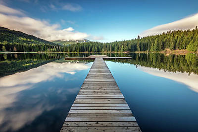 Photograph - Lost Lake Dream Whistler by Pierre Leclerc Photography