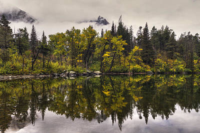 Photograph - Lost Lake In Glacier by Mark Kiver