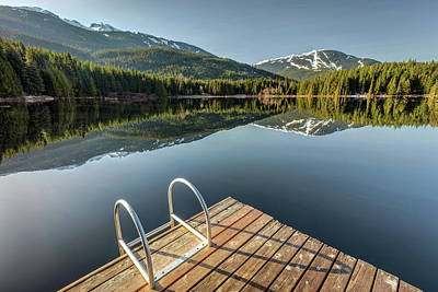 Photograph - Lost Lake Morning Sunlight by Pierre Leclerc Photography