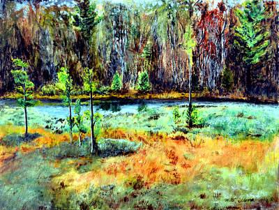 Lost Lake Of Muskegon Original by Walter Idema