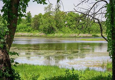Photograph - Lost Lake - Wichita Mountains - Oklahoma -  No2 by Debra Martz