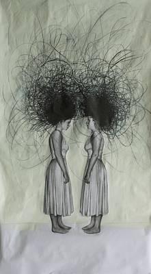 Drawing - Lost by Mays Mayhew