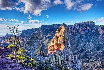 Photograph - Lost Mine Peak by Charles Dobbs