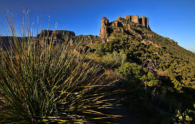 Photograph - Lost Mine Trail In Big Bend National Park 3 by Judy Vincent