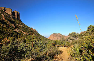 Photograph - Lost Mine Trail In Big Bend National Park 5 by Judy Vincent