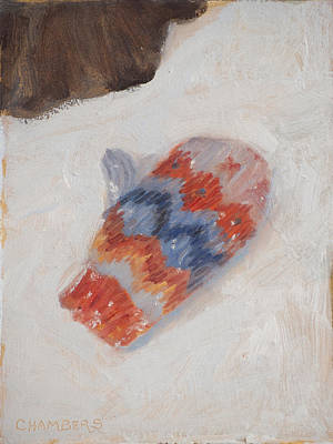 Painting - Lost Mitten One by Timothy Chambers