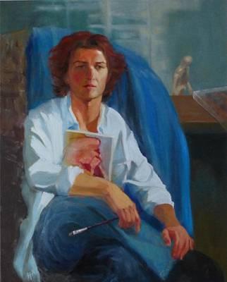 Painting - Lost Model by Irena Jablonski