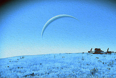 Painting - Lost On A Distant Planet by Andrea Mazzocchetti