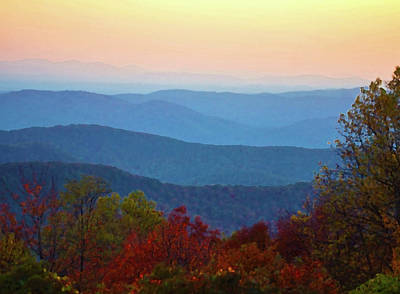 Photograph - Lost On The Blueridge by B Wayne Mullins