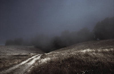 Little Mosters - Lost Path - Fog Runs the Hills of Sonoma Coast by Daniel Furon