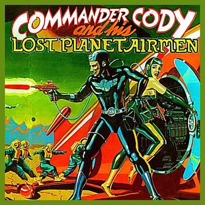 Digital Art - Lost Planet by Commander Cody