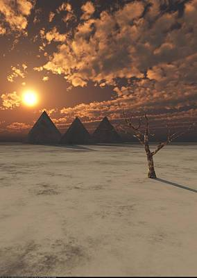 Digital Art - Lost Pyramids by Jay Salton