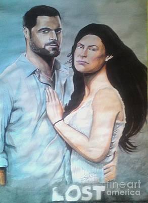 Intezaar Painting - Lost by Sandeep Kumar Sahota