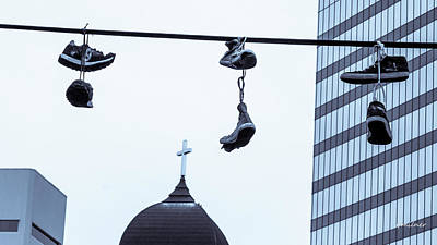 Photograph - Lost Soles - Urban Metaphors by Steven Milner