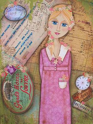 Chalk Pastel Mixed Media - Lost Time by Kathy Cameron