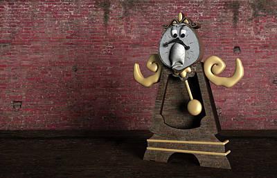Pendulum Digital Art - Lost Time by Randy Turnbow