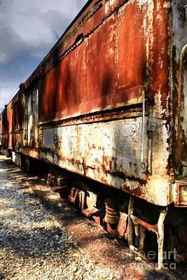 Photograph - Lost Train Of Thought by Mel Steinhauer