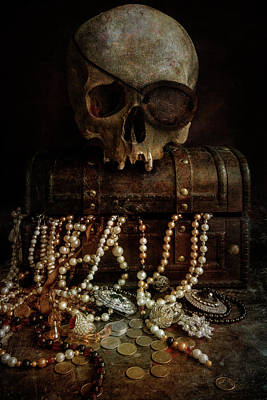 Photograph - Lost Treasure by Jaroslaw Blaminsky