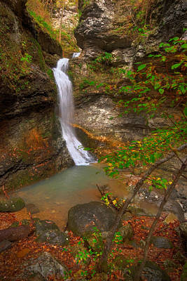 Photograph - Lost Valley Falls by Ryan Heffron