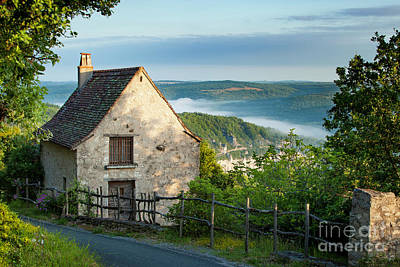 Lot Valley Cottage Art Print