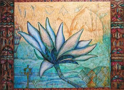Painting - Lotos by Kasia Blekiewicz