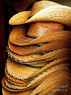 Lots Of Hats Art Print by Mexicolors Art Photography