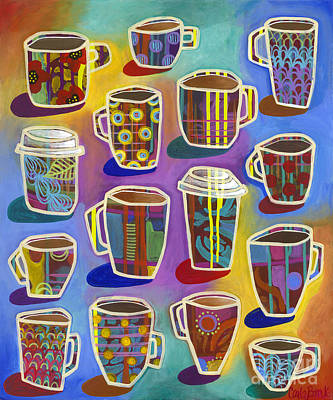 Painting - Lots Of Lattes by Carla Bank