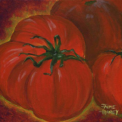 Painting - Lots Of Red by Jaime Haney