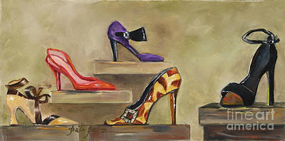 Painting - Lots Of Shoes by Pati Pelz