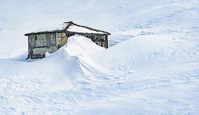 Lots Of Snow Art Print by Svetlana Sewell