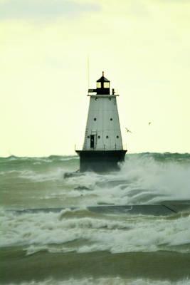 Thomas Kinkade - Lots of Waves by Linda Kerkau
