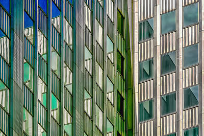 Photograph - Lots Of Windows by Maria Coulson