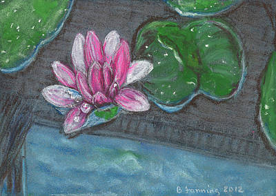 Painting - Lotus 2 by Brenda Stevens Fanning
