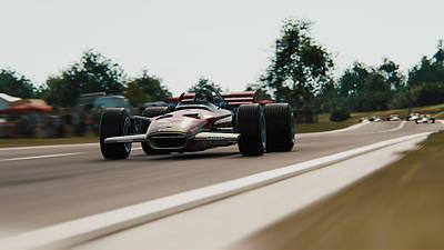 Photograph - Lotus 49 - 03 by Andrea Mazzocchetti