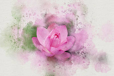 Digital Art - Lotus 7 by Peggy Cooper