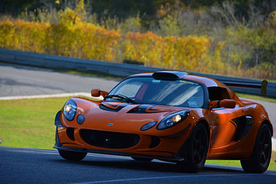 Photograph - Lotus At Lime Rock by Mike Martin