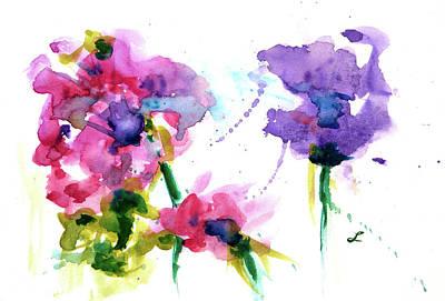 Grandmothers Birthday Painting - Lotus Bloom by Lynne Furrer