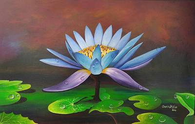 Painting - Lotus Blossom by Owen Lafon