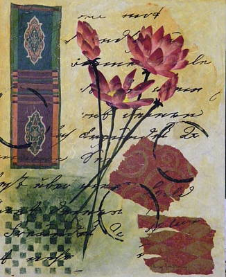 Lotus Blossom Art Print by Terry Honstead