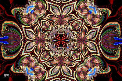 Digital Art - Lotus Boundaries by Jim Pavelle