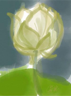 Lotus Art Print by Carl Griffasi