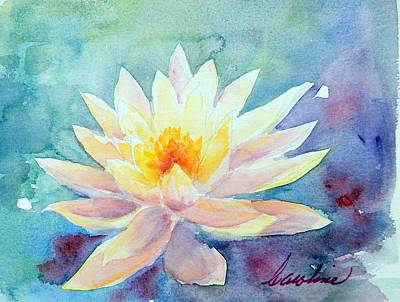 Painting - Lotus Awakens by Caroline Patrick