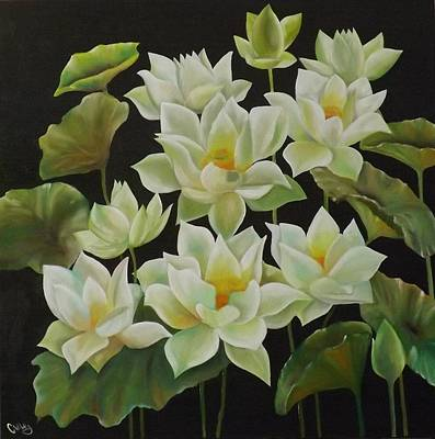 Painting - Lotus  by Courtney Wilding
