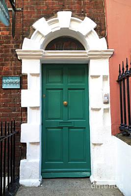 Photograph - Lotus Door Dublin by John Rizzuto
