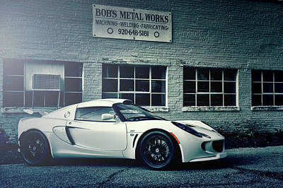 Photograph - Lotus Elise by Joel Witmeyer