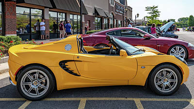 Photograph - Lotus Elise by Randy Scherkenbach