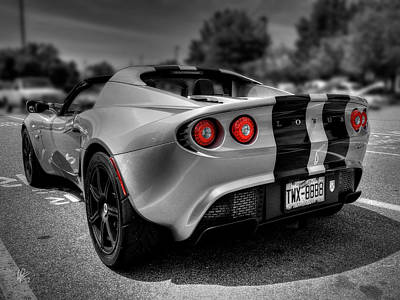Photograph - Lotus Elise Sport 001 by Lance Vaughn