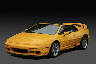 Photograph - Lotus Esprit by Bill Dutting