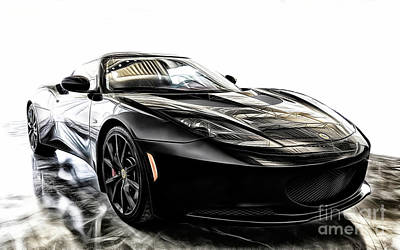 Photograph - Lotus Evora Sports Racer by Brad Allen Fine Art